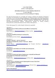 CALL FOR PAPERS 2011 - Lateinamerikaforschung Austria