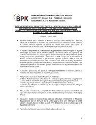 Njoftim për shtyp 13 mars 2006 - Banka Qendrore e Republikës së ...