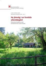 UV Mitt Rapport 2008:26 - arkeologiuv.se