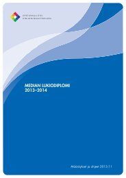MEDIAN LUKIODIPLOMI 2013–2014 - Edu.fi