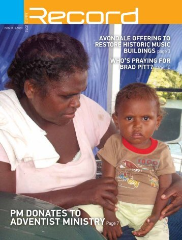 pm donAtes to Adventist ministryPage 7 - RECORD.net.au