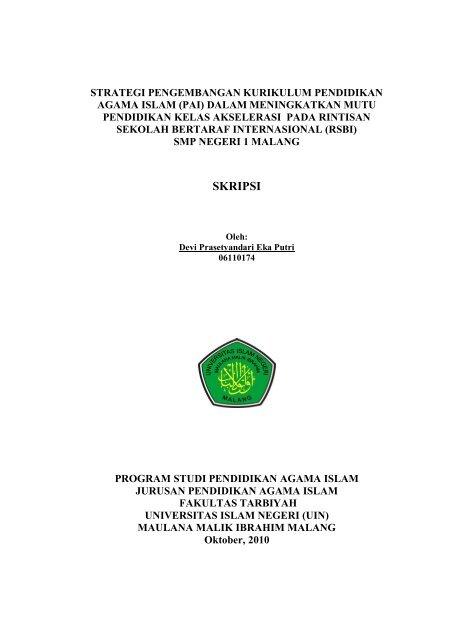 Skripsi Digilib Uin Malang