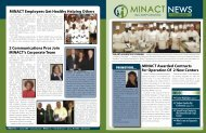 MINACT Employees Get Healthy Helping Others 2 Communications ...