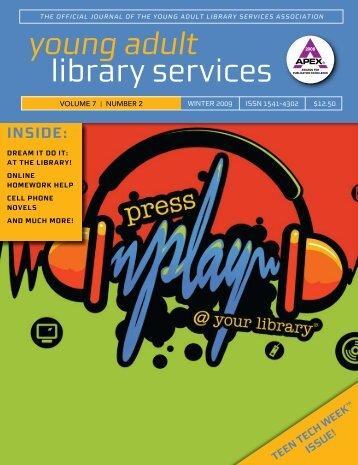 Winter 2009 - YALSA - American Library Association