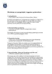 Se mere om indhold i de otte workshops - mitBUF.dk