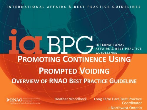 promoting continence using prompted voiding - Long-Term Care ...