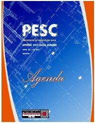 Final Agenda - PESC