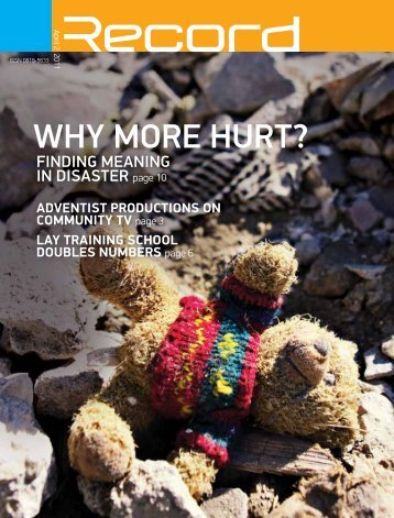 Why more hurt? - RECORD.net.au
