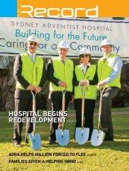 HOSPITAL BEGINS REDEVELOPMENTpage 9 - RECORD.net.au
