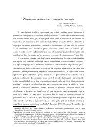 Linguagem e pensamento: a perspectiva marxista - lamericas.org