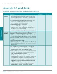 RNAO Facilitators and Barriers Worksheet - Best Practices Toolkit