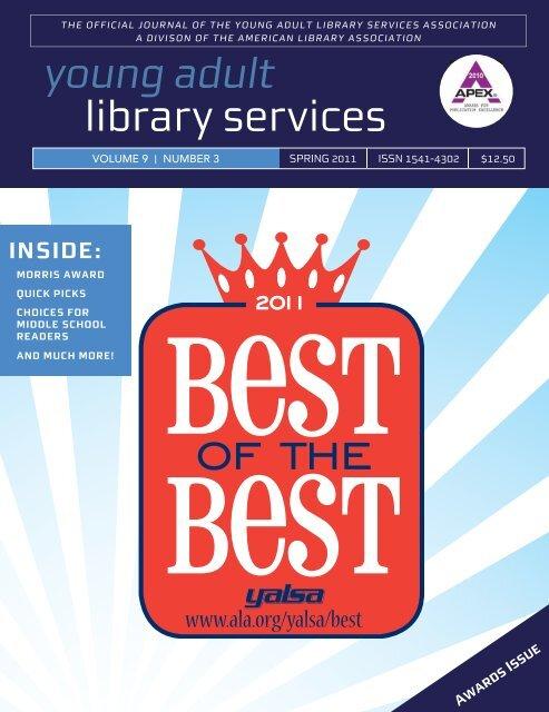 Spring 2011 - YALSA - American Library Association