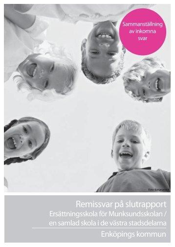Sammanställning av remissvaren - Enköping