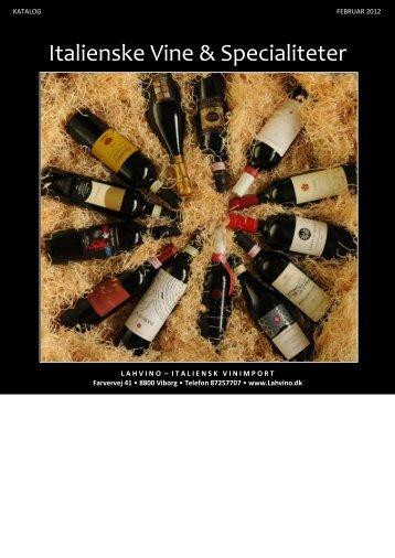 Katalog 2012 - Lahvino