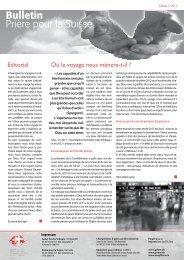 1_2013_Couverture - Gebet für die Schweiz
