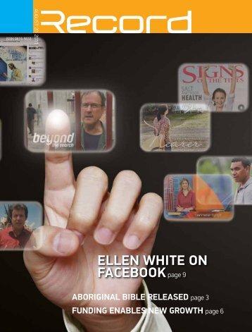 ELLEN WHITE ON FACEBOOKpage 9 - RECORD.net.au