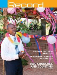 1000 CHuRCHES AND COuNTINg - RECORD.net.au