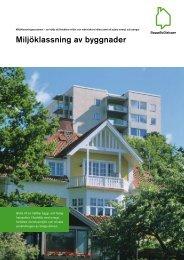 Miljöklassning av byggnader