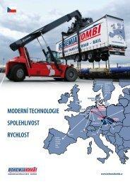 spolehlivost moderní technologie rychlost - Bohemiakombi