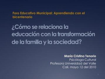 Descarga presentación (178 KB) - Psicologiacultural.org