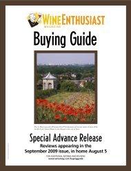 Advance Buying Guide - Domaine des Baumard