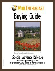 Advance Buying Guide - Domaine des Baumard