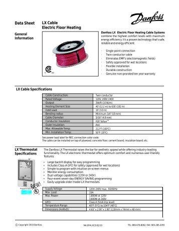 Datasheet Ret B Battery Powered Room Thermostat Danfoss