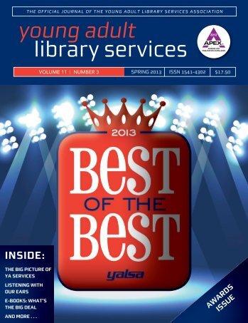 Spring 2013 - YALSA - American Library Association