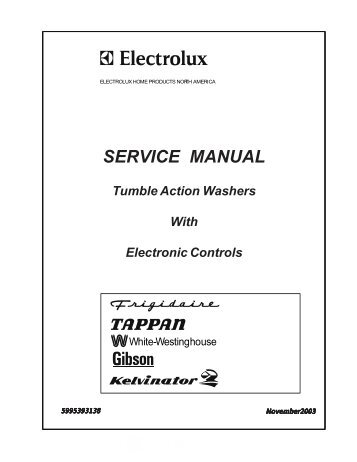 service manual appliance repair blog forums rh yumpu com Gibson Appliance Company Gibson Refrigerator