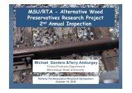 RTA_AWPRP Presentation - Railway Tie Association