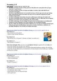 Svenska 1-5 - Bagarmossen Brotorps skolor