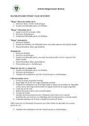 Handlingsplan hot och våld Bagarmossen Brotorp