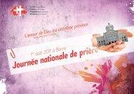 Journée nationale de prière 1er août 2011 à Berne