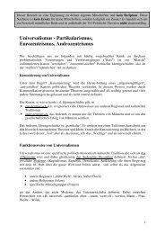 Universalismus, Partikularismus, Eurozentrismus ... - Birgit Sauer