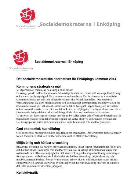 Mtesplatser och kulturarv att utveckla - Enkpings-Posten