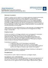 Læs projektbeskrivelsen - mitBUF.dk