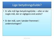 Slides - Tirsdag 2. del - mitBUF.dk