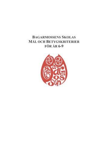 Betygskriterier_6-9 - Bagarmossen Brotorps skolor