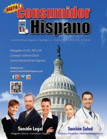 Consumidor Hispano Magazine - Abril, 2015