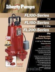 FL100-Series FL150-Series FL200-Series - Liberty Pumps