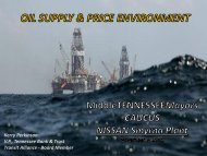 Oil Supply & Pricing, Kerry Perkinson, November 9, 2011