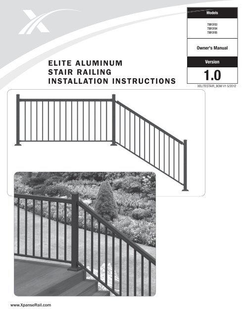Stair Railing Installation Instructions - Photos Freezer and