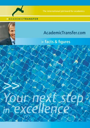 Your next step in excellence - AcademicTransfer