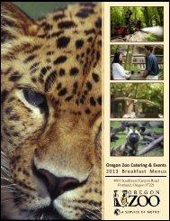 Menus - Oregon Zoo