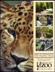 Breakfast Menus - Oregon Zoo
