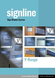Y-Range - Display Design