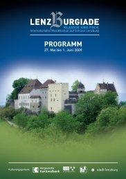 PROGRAMM - Lenzburgiade
