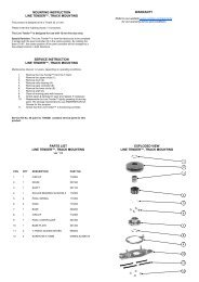 Product manual Track Mounting Line Tender - ANDERSEN Winches