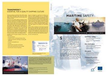 maritime safety - European Shortsea Network
