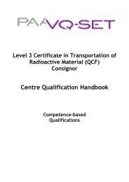 QCF Qual Handbook L3 Cert in T-RAM Consignor April 2010 - Ramtuc